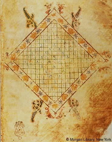 Beatus de Morgan. Fólio  1r