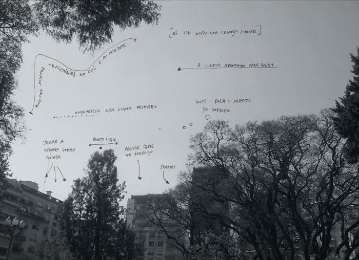 """""""Esboço para o momento final"""", 2014."""