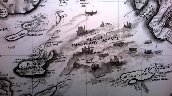 """""""Map"""", Qiu Zhijie, 2014."""