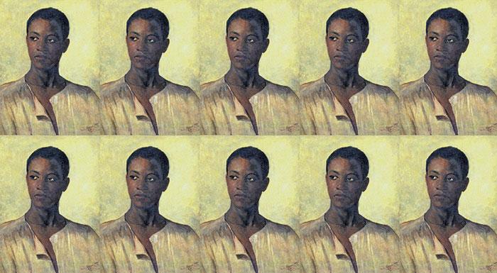 Antônio Manuel Pinto Coelho. Cabeça de Homem. Artista negro.