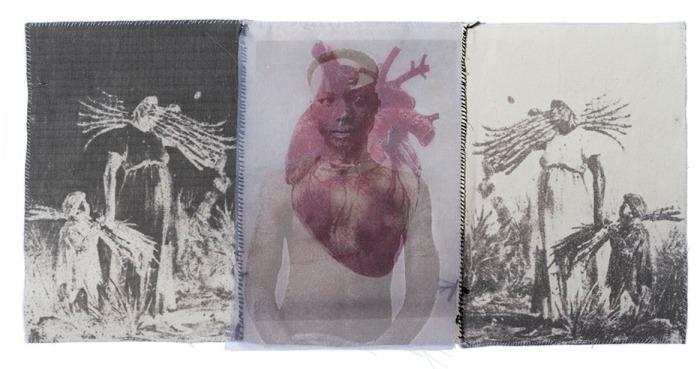 Rosana Paulino. Coração. Artista negra.