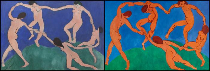 A dança. Matisse.