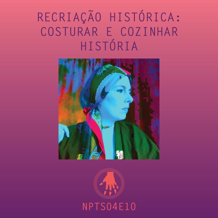 Imagem de capa. Tupá Guerra. Podcast. Recriação Histórica.