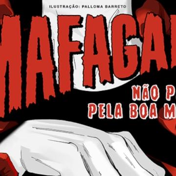 Imagem de capa. Mafagafo Revista. Não pague pela boa morte. Ficção.