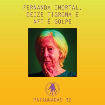 Imagem de capa. Fernanda Montenegro. Podcast. Notícias. Arte Contemporânea.